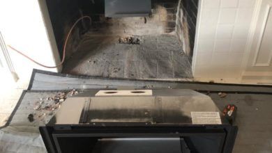 Photo of Fireplace Repair Langley